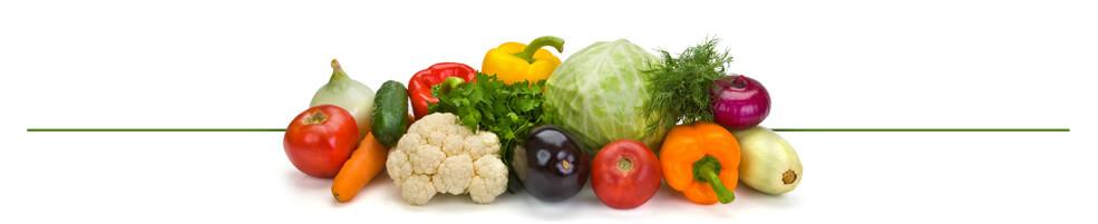 produkty wegańskie - warzywa